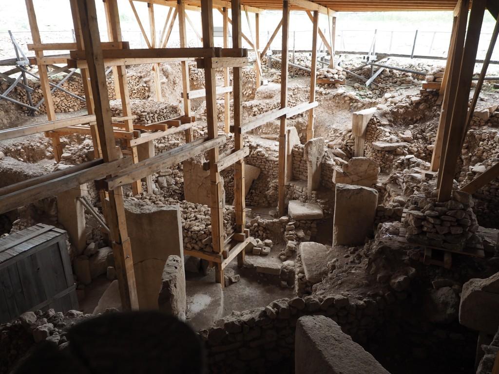Göbeklitepe'nin şu anki hali. Fotoğraf: SİNAN HAMAMSARILAR