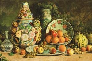 Şeker Ahmet PaŞa'nın Meyveli Natürmort'u; 2 milyon dolara satıldı.