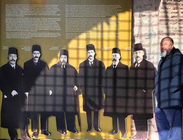 İstanbul müzelerini gezerken...