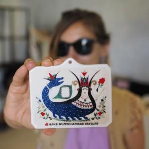 Şahmaran.. Müzenin olmazsa olmazlarından. Fotoğraf: Sinan Hamamsarılar