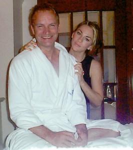 Şarkıcı Sting sürekli müşterilerinden.