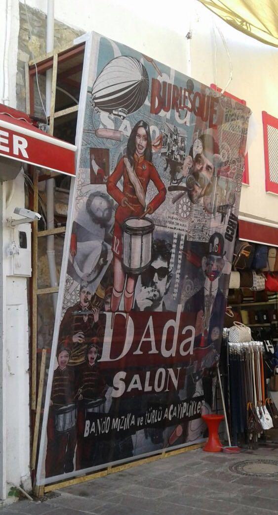 İşte Dada Salon'dan ilk görüntü.