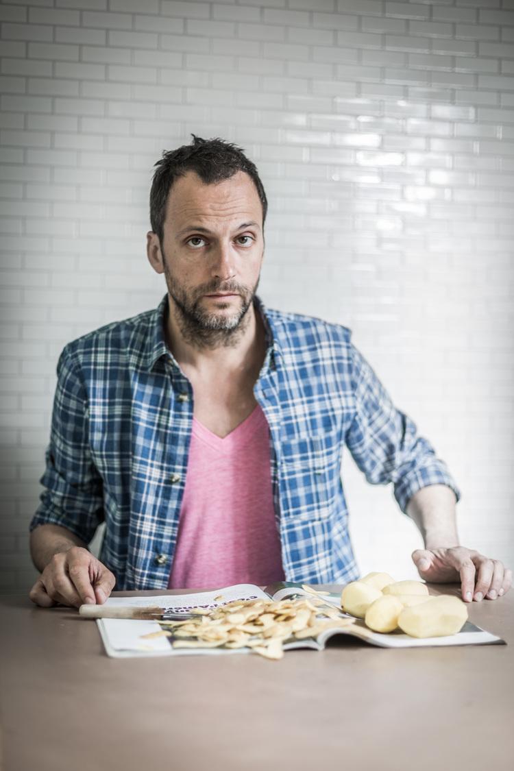 Fransız mutfağına karşı başlattığı Le Fooding hareketini yemek eleştirmeni Alexandre Cammas başlattı. (Fotoğraf: Julie Balague)